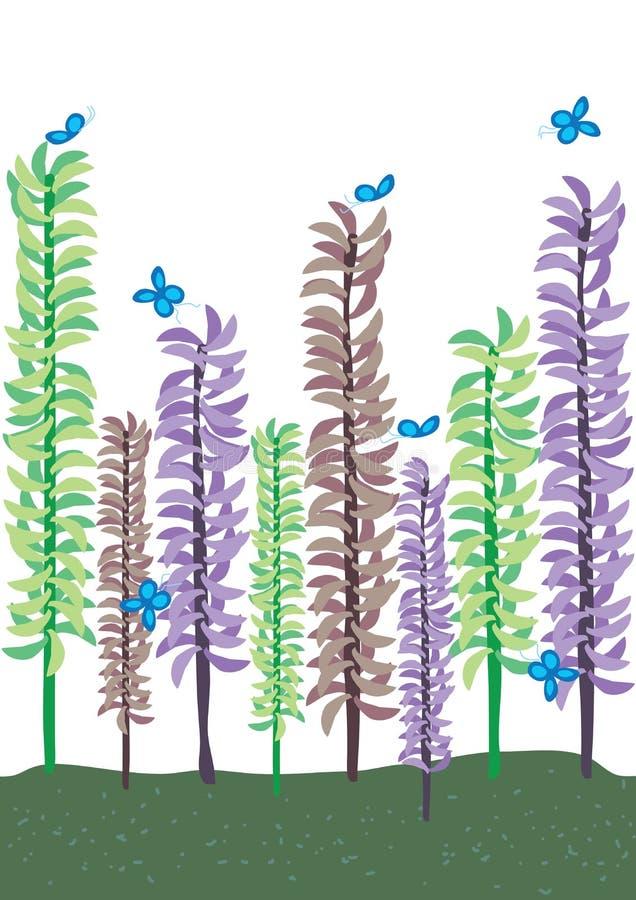 herba karciany drzewo ilustracji