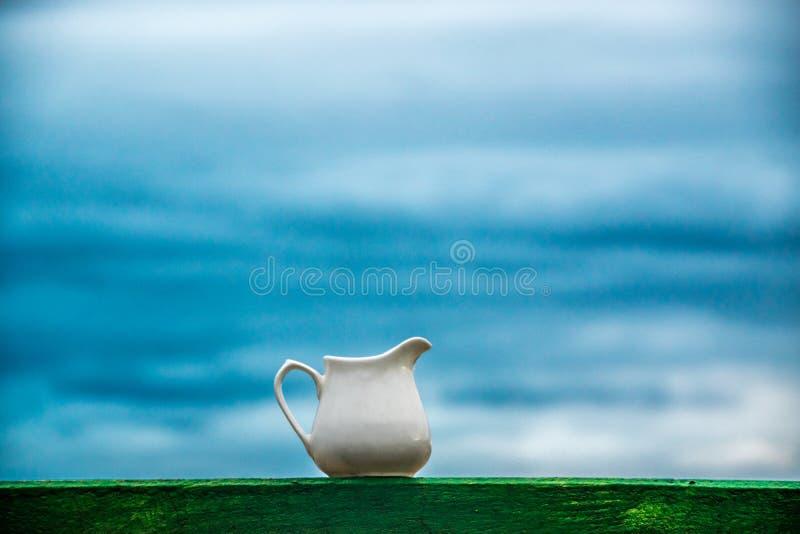Herbaciana filiżanka fotografia stock