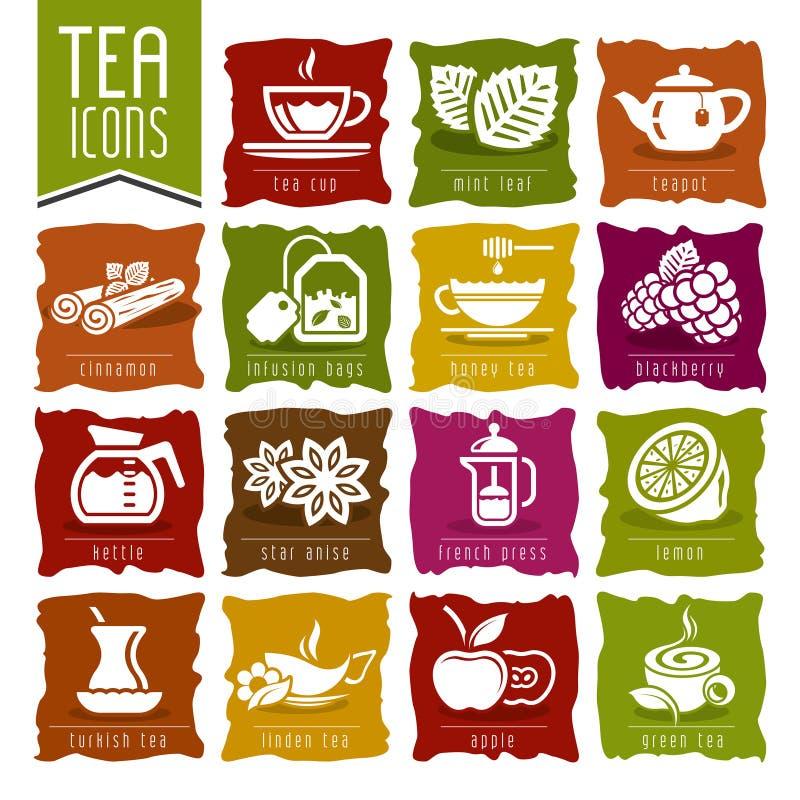 Herbaciana ikona ustawiająca - 2 ilustracji