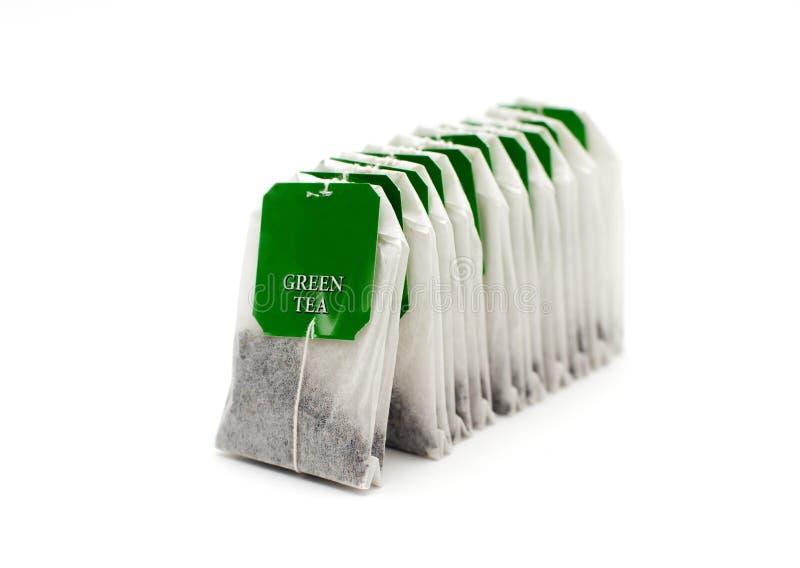 Herbaciane torby fotografia stock