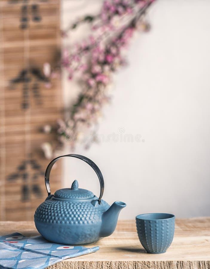 Herbacianego czasu azjatykci sposób obrazy stock