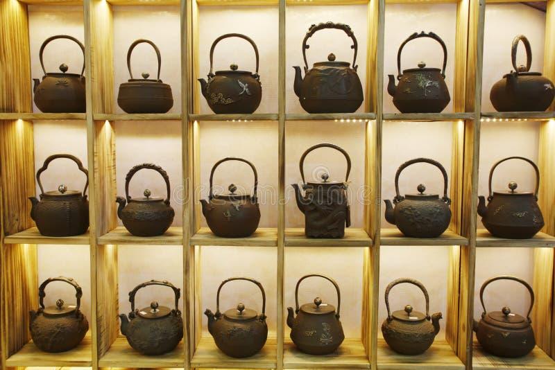 Herbaciany czajnik zdjęcie royalty free