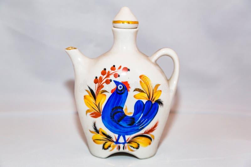 Herbaciany czajnik dla gorącej herbaty zdjęcie royalty free