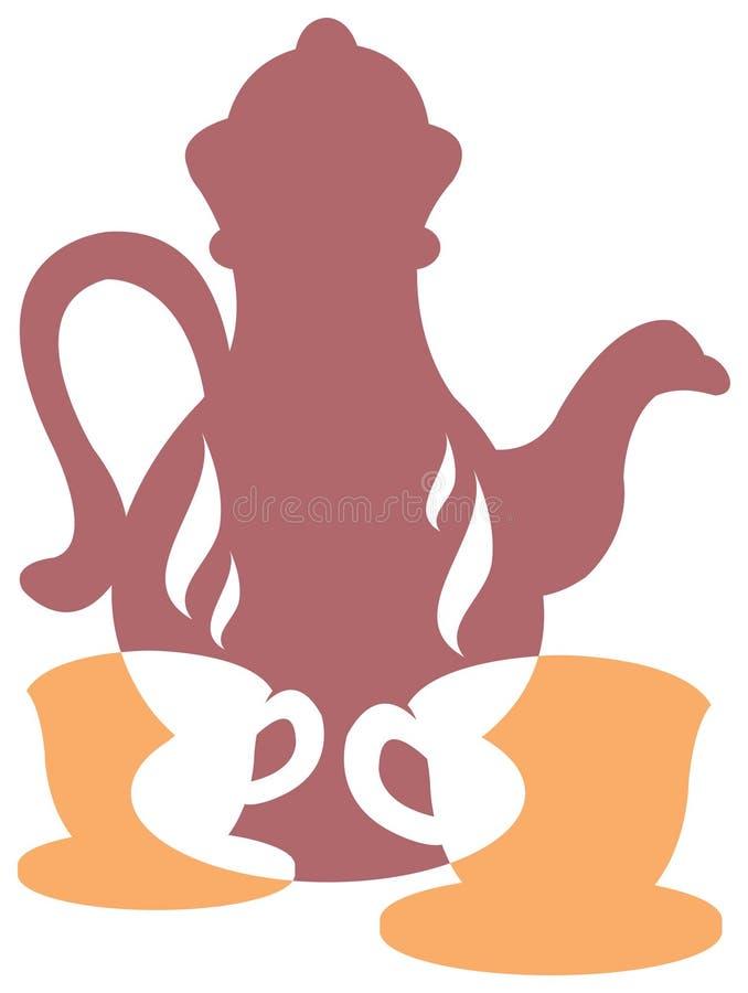 Download Herbaciany czas ilustracja wektor. Obraz złożonej z ciecz - 15093460