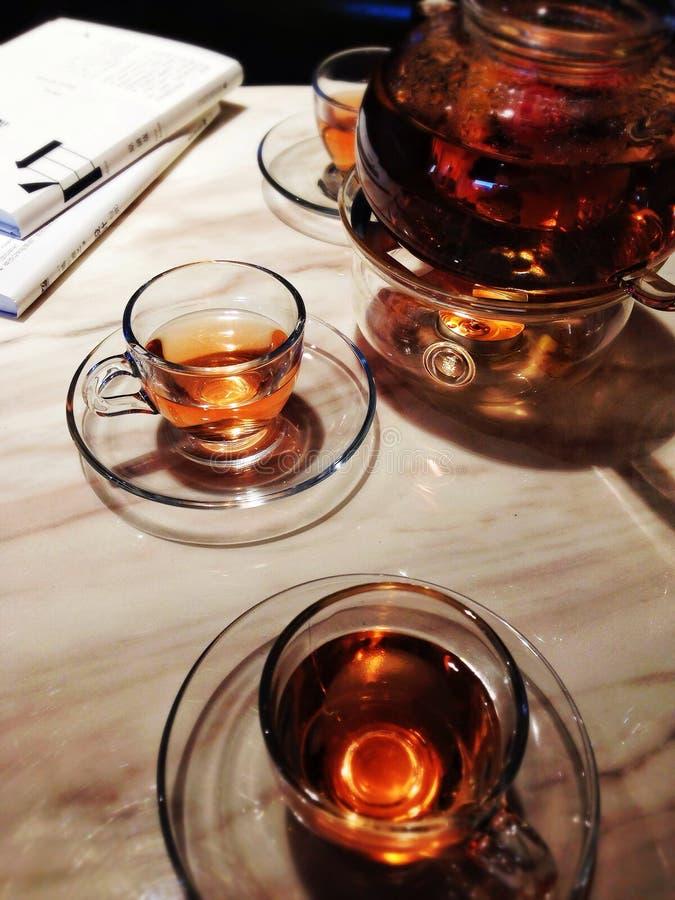 Herbaciany czas zimny dzień zdjęcie royalty free