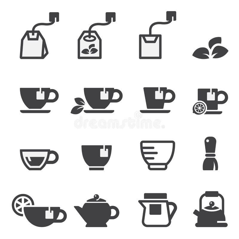 Herbaciany ikona set ilustracja wektor