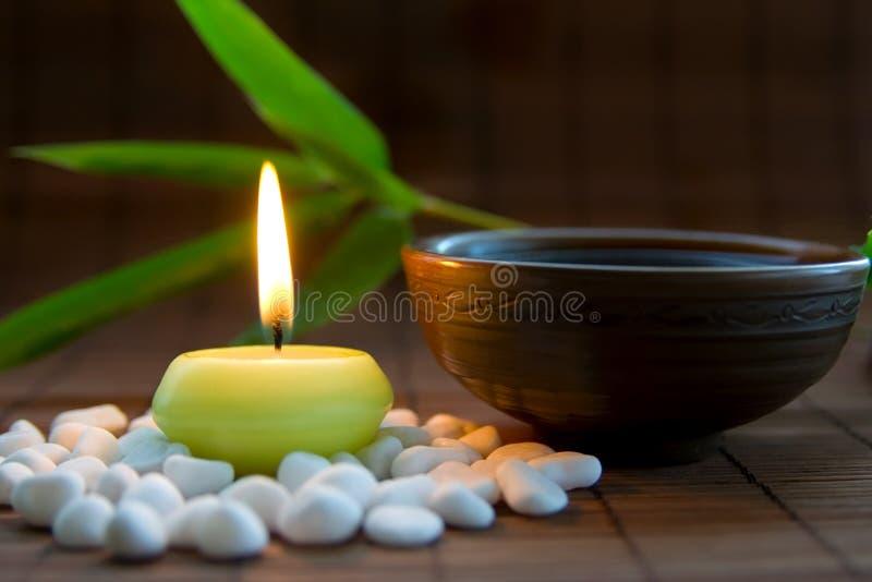 herbaciany zen obraz royalty free