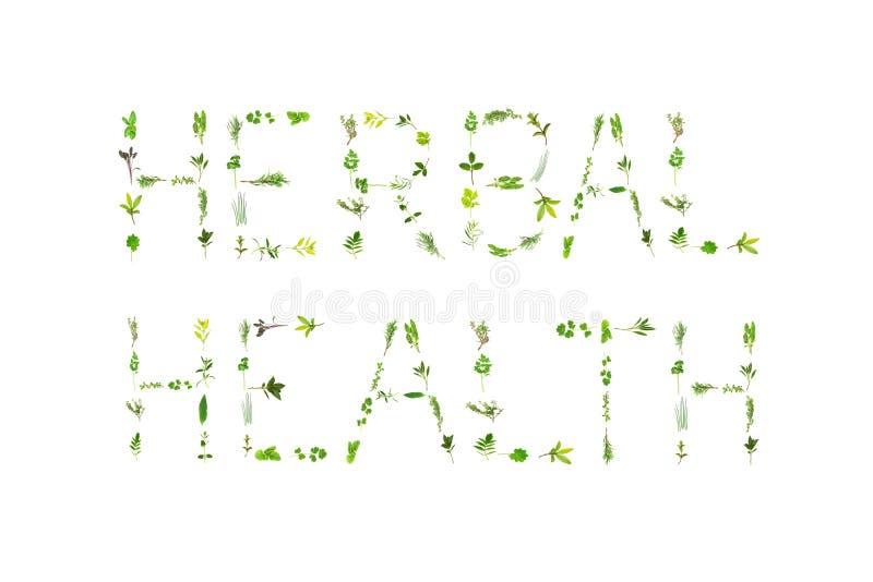 Herbal Health royalty free stock image