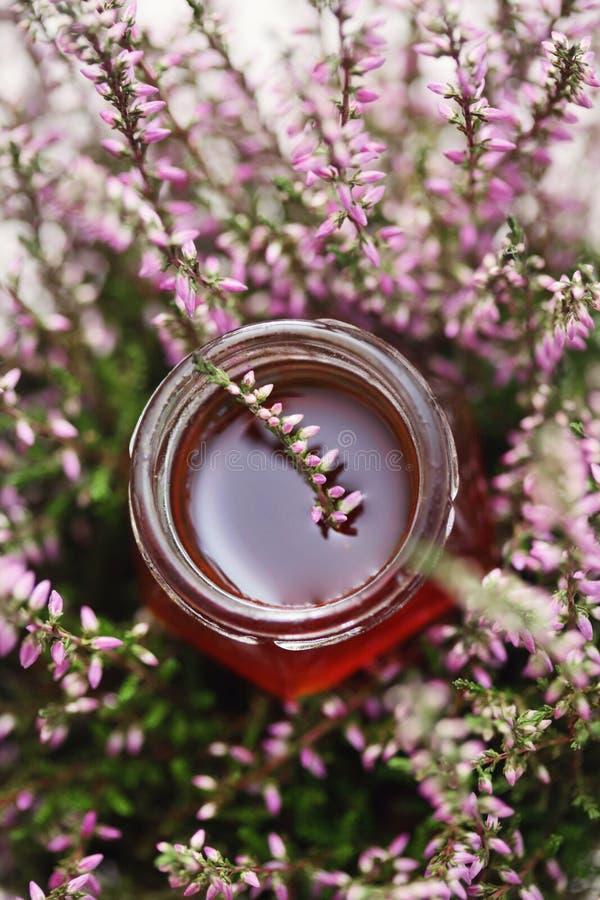 Herbal honey royalty free stock images