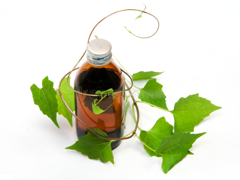 Herbal medicine - 01 stock photo
