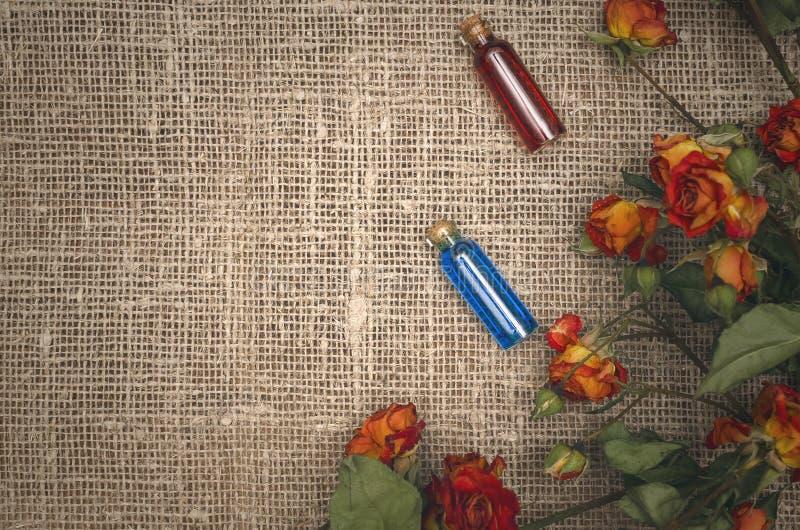 Herbal medicine concept. Alternative medicine. stock photos