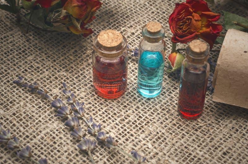 Herbal medicine concept. Alternative medicine. royalty free stock photography