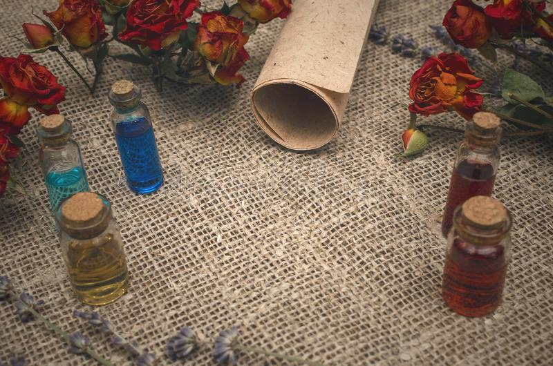 Herbal medicine concept. Alternative medicine. royalty free stock photos