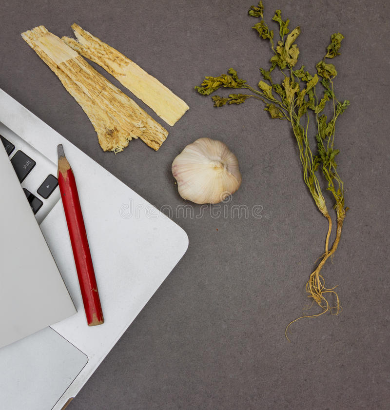 Herbal Medicine Healthy Healthcare and Medicine. stock images