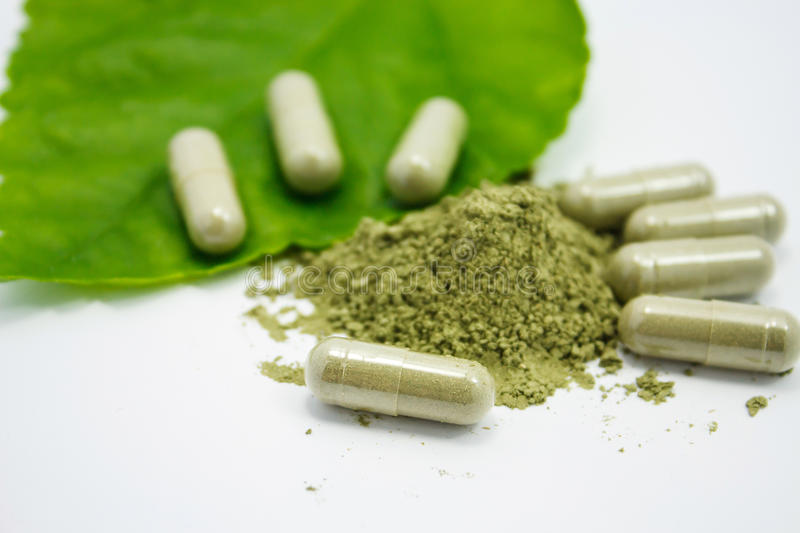 Herbal medicine royalty free stock image
