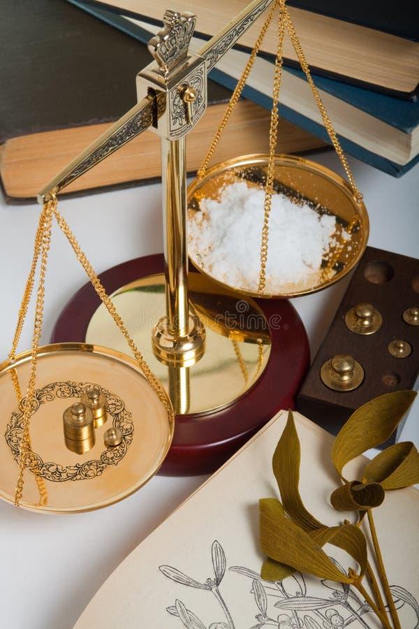 Herbal pharmacy stock photography