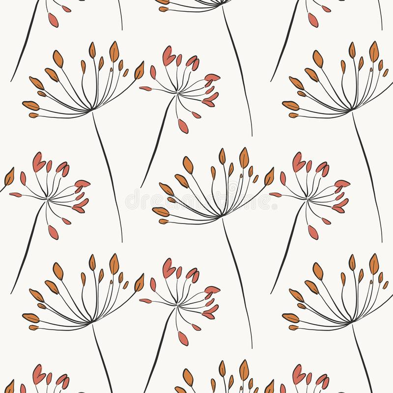 Free Herbal Rustic Texture. Botanical Natural Art With Flower Blossom In Pastel Colors. Elegant Leaf Garden Illustrations. Greenery Stock Photos - 145738543