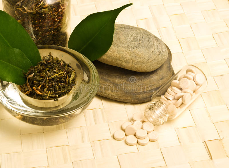 Download Herbal Tea And Tablets Stock Images - Image: 13286284
