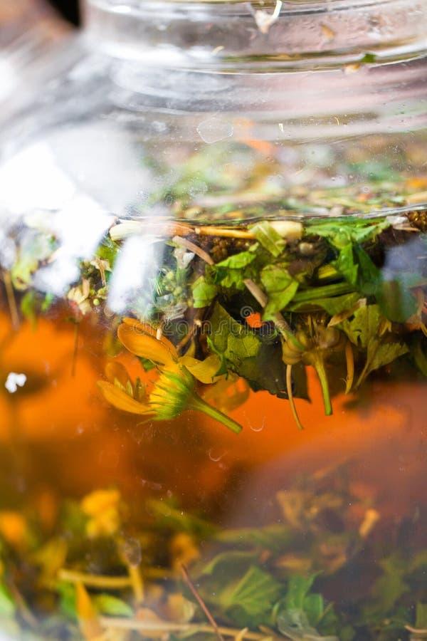 Herbal Tea Texture Stock Photos