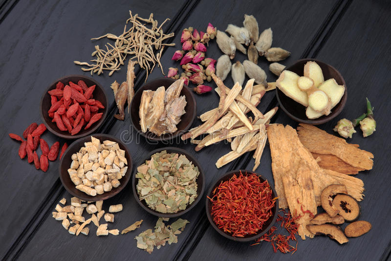 Herbal Therapy stock photos