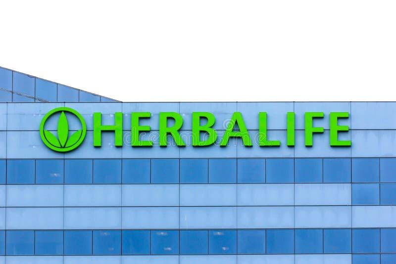 Herbalife siège le bâtiment photo libre de droits