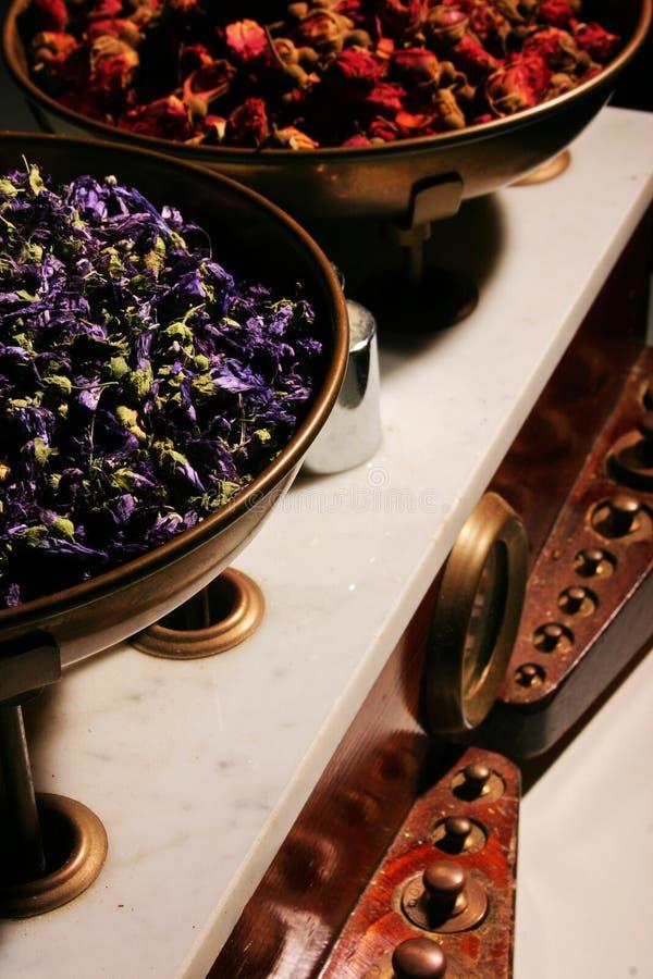 Herbalist Balance Stock Photography