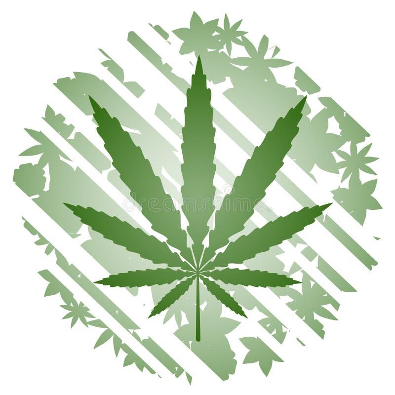 Herbario verde ilustración del vector