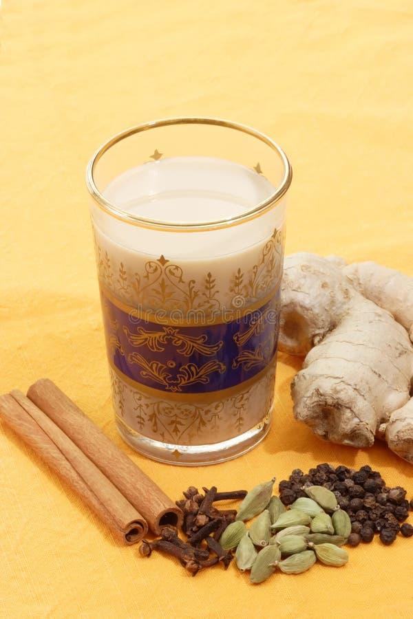 herbata indyjska zdjęcia stock