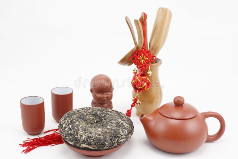 Herbata set zdjęcie royalty free