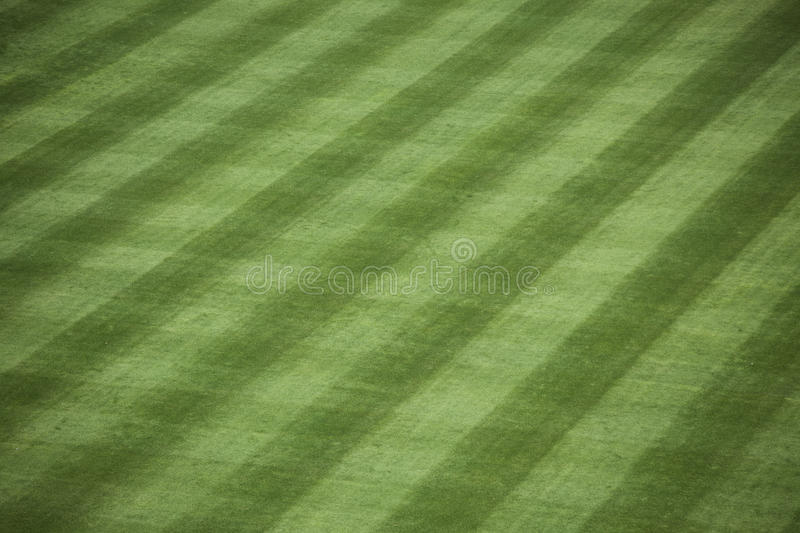 Herbe de stade de base-ball photographie stock libre de droits