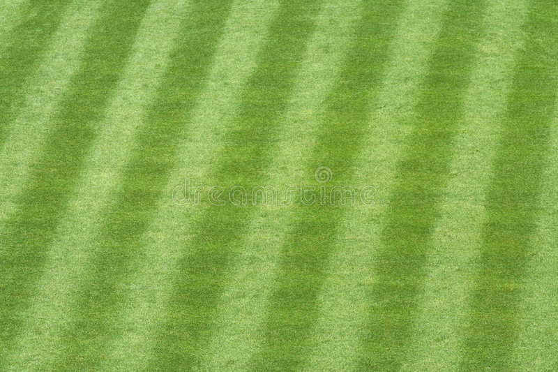 Herbe de stade de base-ball photos stock