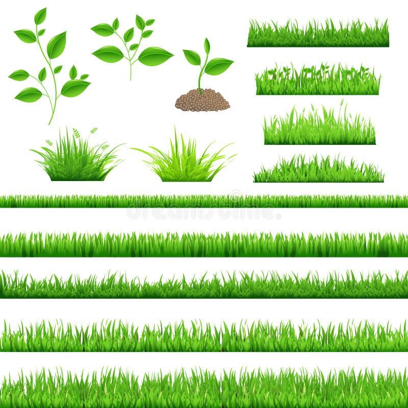 Herbe verte illustration stock