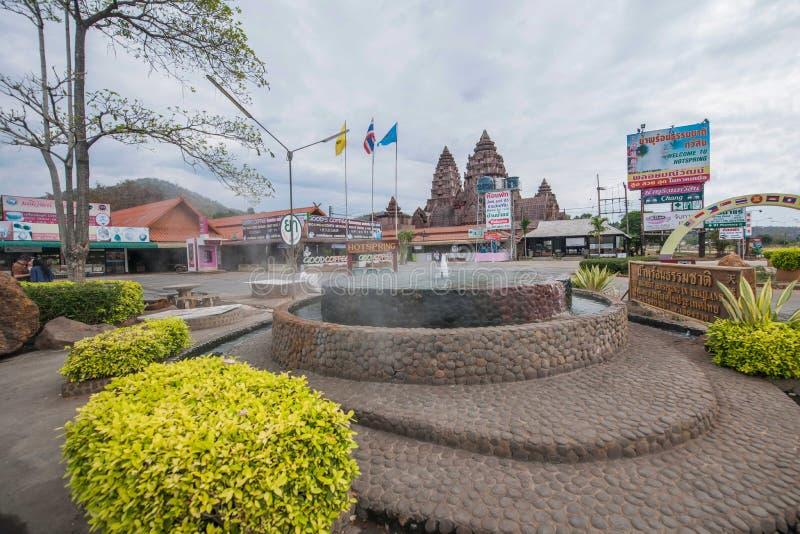Herberg & Kuuroord Chiang Rai in noordelijk Thailand stock afbeeldingen