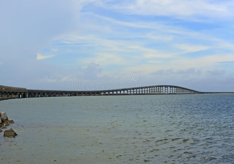 Herbert C Banques externes la Caroline du Nord de pont de Bonner photos libres de droits