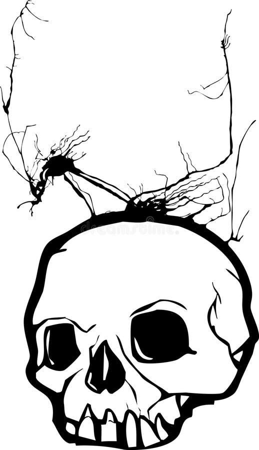 Herbes de l'esprit illustration de vecteur
