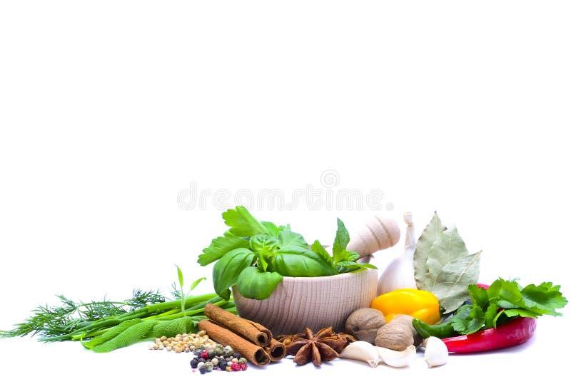 Herbes et épices image libre de droits