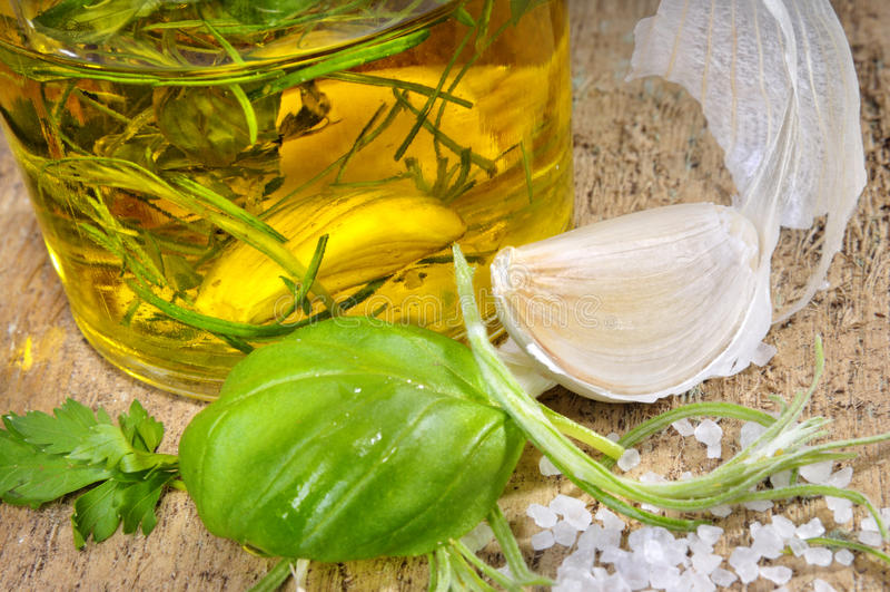 Herbes italiennes photos stock