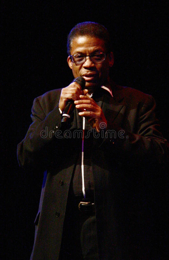 Herbie Hancock fotografia de stock royalty free