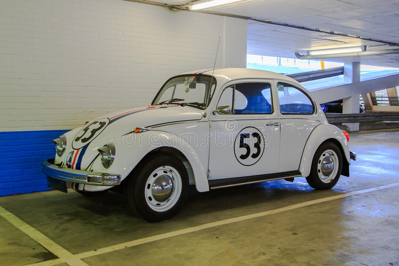 Herbie, o erro do amor imagem de stock