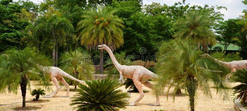 Herbivoor dinosaurussen royalty-vrije stock afbeelding