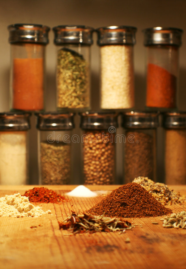 Free Herbs And Spices Stock Image - 4063891