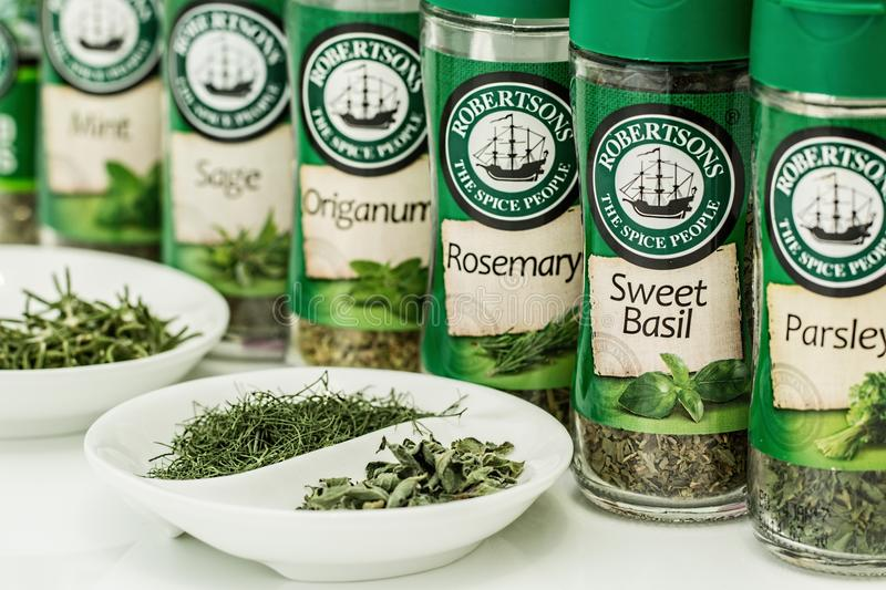 Herbs Flavoring stock photography