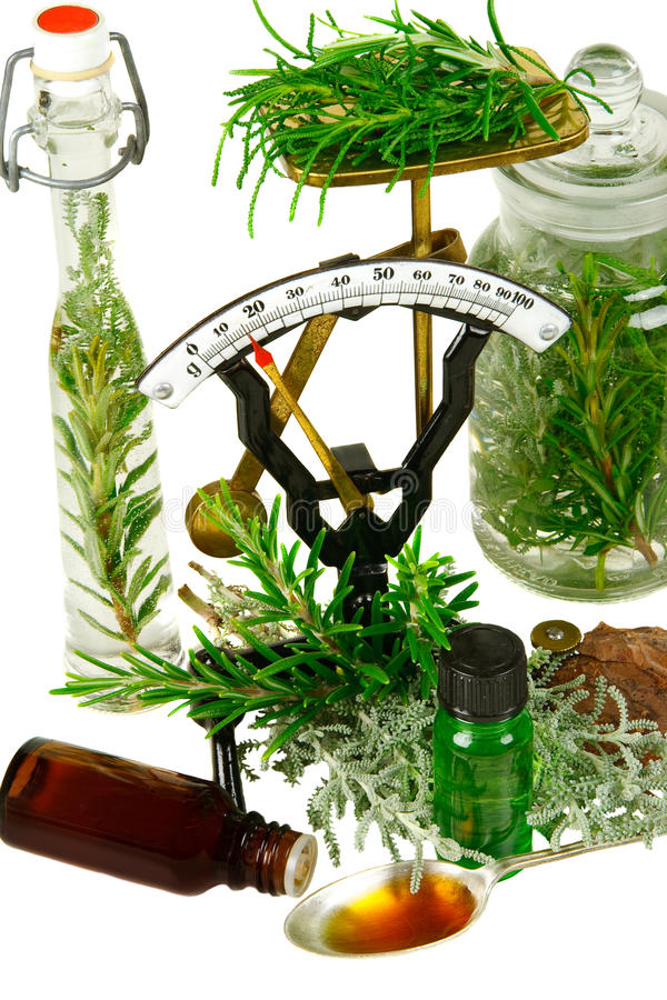 Herbs for medicine royalty free stock image
