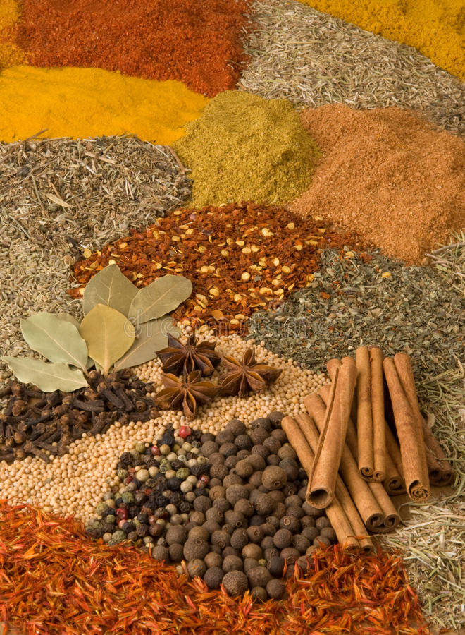 Download Herbs and spices stock image. Image of spice, herbs, taste - 12594835
