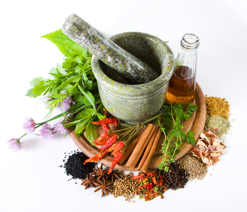 Download Herbs And Spices Royalty Free Stock Photography - Image: 5446957
