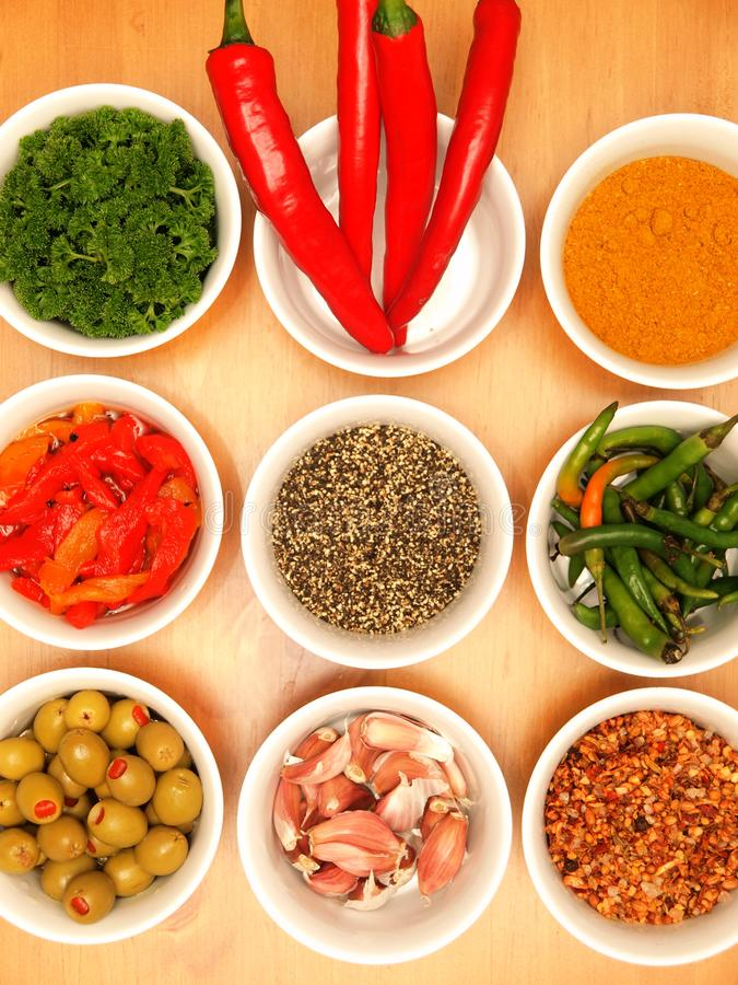 Herbs & Spices royalty free stock images