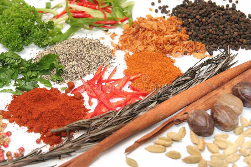 Download Herbs And Spices Royalty Free Stock Images - Image: 7705099