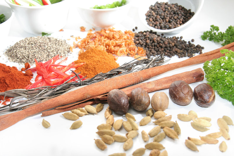Download Herbs And Spices Stock Photography - Image: 7706752