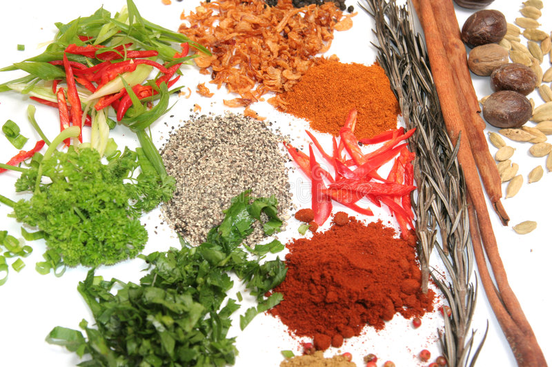 Download Herbs and spices stock image. Image of pepper, kind, ingredients - 7716763