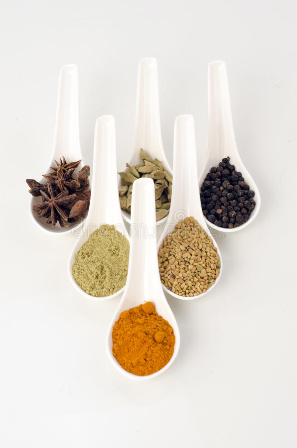 Herbs And Spies Stock Photos